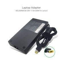 Adaptateurs dalimentation Delta 20 V 11.5A 230 W pour Lenovo ADL230NDC3A 5A10H28357 SA10E75804 00HM626 chargeur pour ordinateur portable USB de forme mince