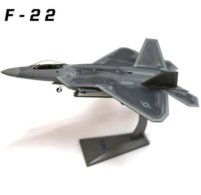 1 72 F-22 raptor af1 eua força aérea f22 lutador simulação liga modelo estático para presentes adultos brinquedo coleção