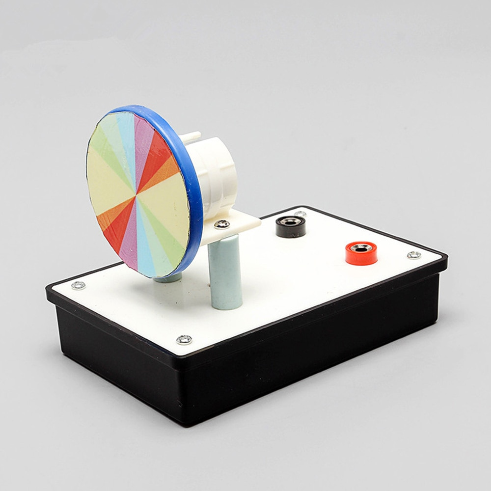 Micro Newton Seven-color Discs Seven-color Board Light Disk Physical Optics Experimental Instruments