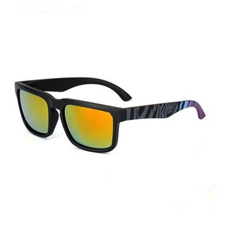 2018 KEN BLOCK Square Frame Men Women Brand Designer Reflective Coating Sun Glasses Goggle Square Spied SunGlasses Male UV400