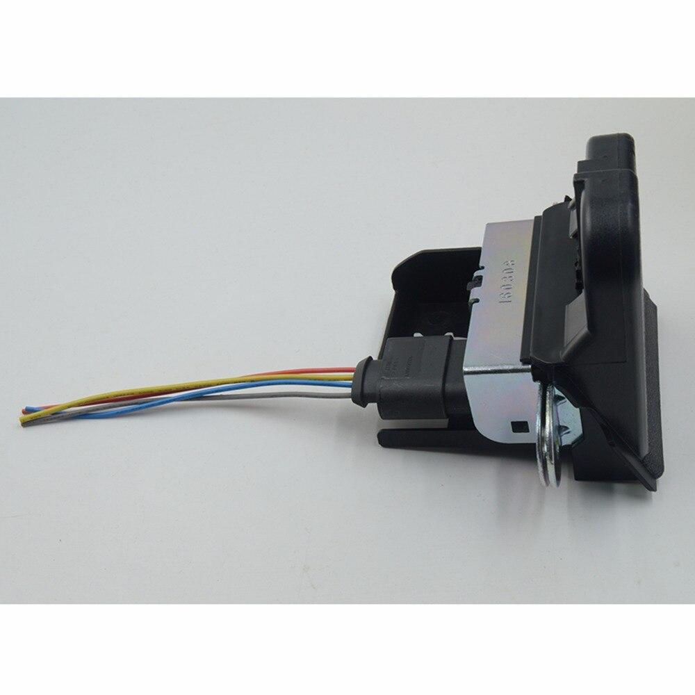 Cerradura de maletero trasera, pestillo de bloqueo de tapa para VW GOLF MK5 GOLF GTI GOLF MK6 para SEAT LEON 1K8827505B 5K0827505A 5M0827505E 1P0827505D