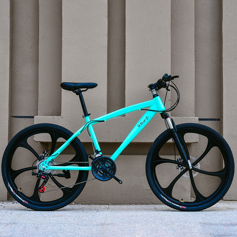 Excelente qualidade 21 velocidades mountain bike freio de disco duplo de bicicleta de estrada 26 polegada novo estilo de bicicletas