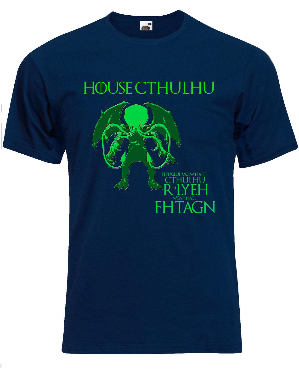 Casa Cthulhu tiene Greyjoy parodia durmiente de Rlyeh H P para hombre Camiseta Tee superior AG49Cool Casual de moda Unisex camiseta envío gratis
