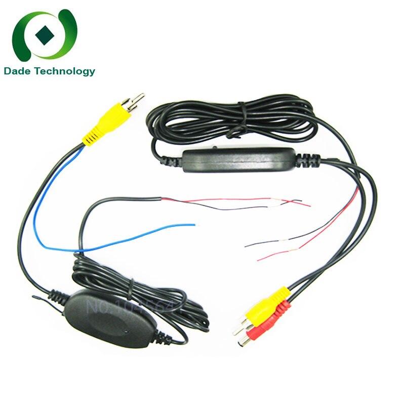 ¡Aycetry! venta al por mayor! 2,4G transmisor/receptor inalámbrico para Vista trasera de marcha atrás de coche cámara de respaldo GPS Radio Monitor aparcamiento Assistan