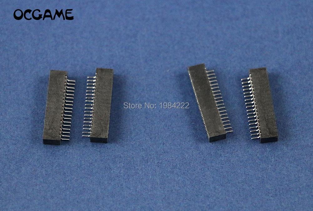 OCGAME para Playstation 2 PS2 cinta cable Flex conductivo película conector hembra 18pin 19pin bloque 300 unids/lote