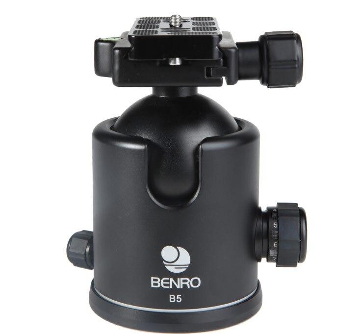 Benro Ball head B00 B0 B1 B2 B3 B4 B5 ballhead Professional Magnesium Video Head Bual Action Ball Head enlarge