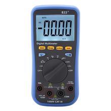 Owon B33 + multimètre numérique LCD affichage numérique Bluetooth pour mesurer la résistance de courant de tension ca/cc 1000V
