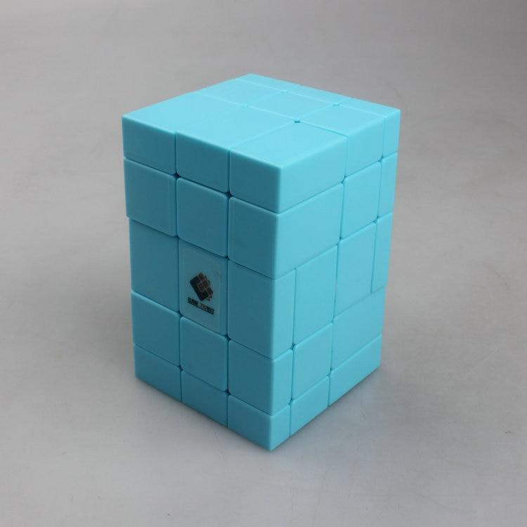 CubeTwist Siamés conjunto 3X3X5 cubo mágico espejo Bump cubitos juguete educativo para niños (85X57X57mm)