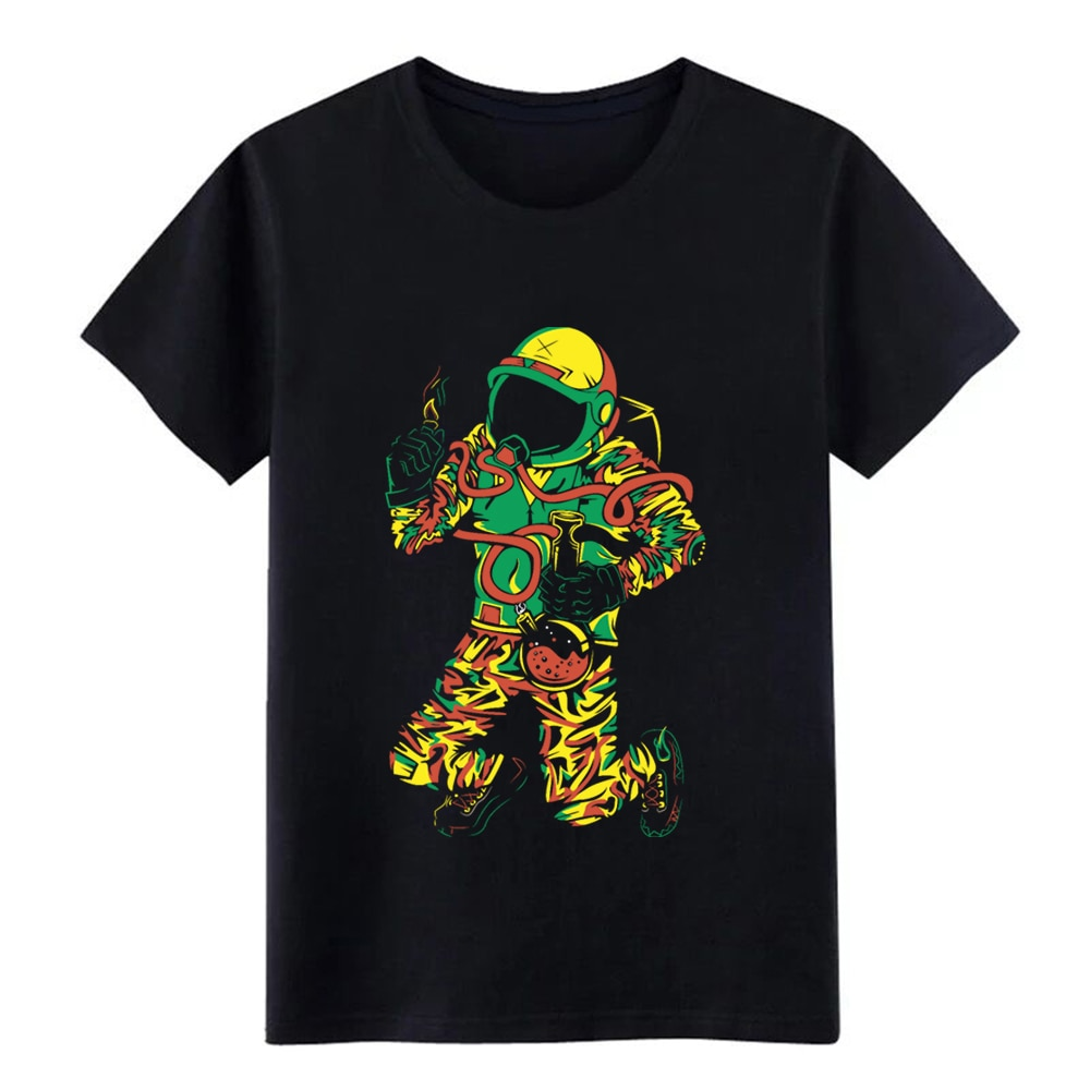 Astronauta Bong camiseta diseños 100% algodón tamaño S-3xl Formal luz solar Casual primavera otoño patrón camisa