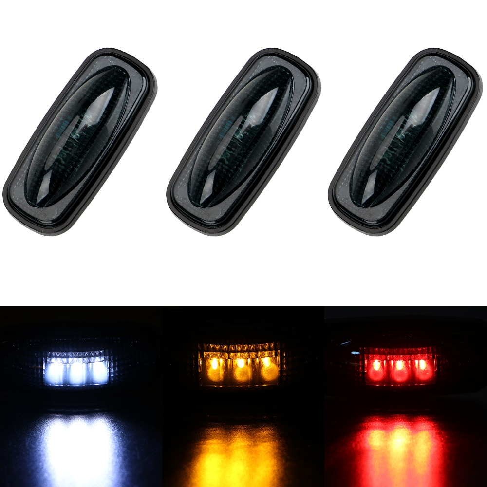 Marker Lamp Truck Side Light Trailer Pickup Indicators Light Car-styling Auto Decoration 3LED
