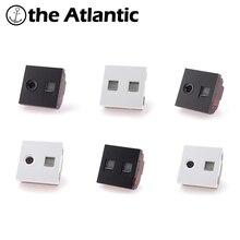 PartsTV bricolage   Prises de téléphone RJ45,RJ11 CAT5e, clé de fonction de prise de courant CAT3 pour Module uniquement blanc/noir en plastique