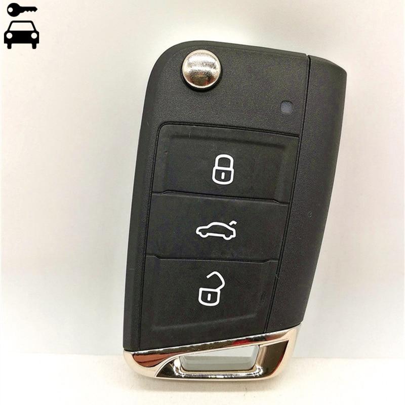 Original Car MQB Remote Key 434Mhz with ID48 Chip for Volkswagen Golf7 Golf 7 MK7 Tiguan Passat B8 5G0 959 753BA 753AG