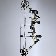 35 ~ 70lbs droitier ou gaucher tir à larc chasse composé ensembles darc