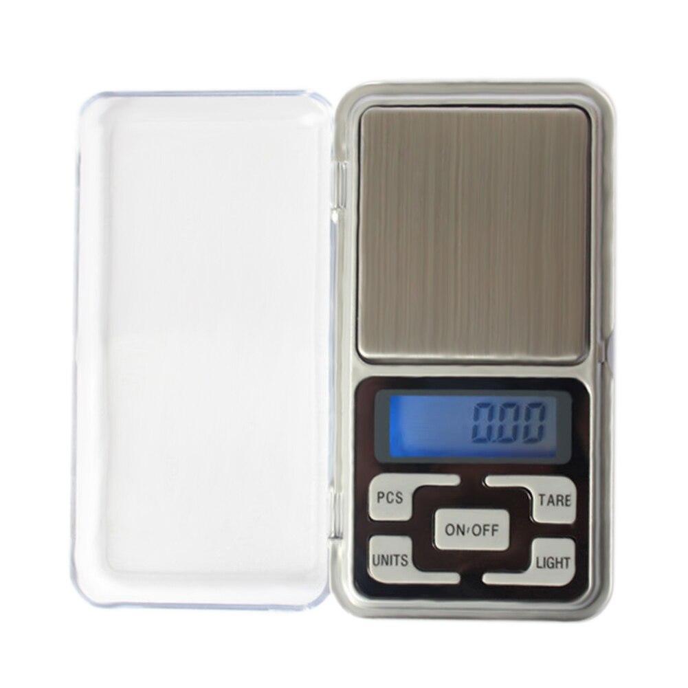 Цифровые Мини-весы 100/200/300/500 г 0,01/0,1 г, высокоточные Карманные электронные весы с ЖК-подсветкой для ювелирных изделий и кухни