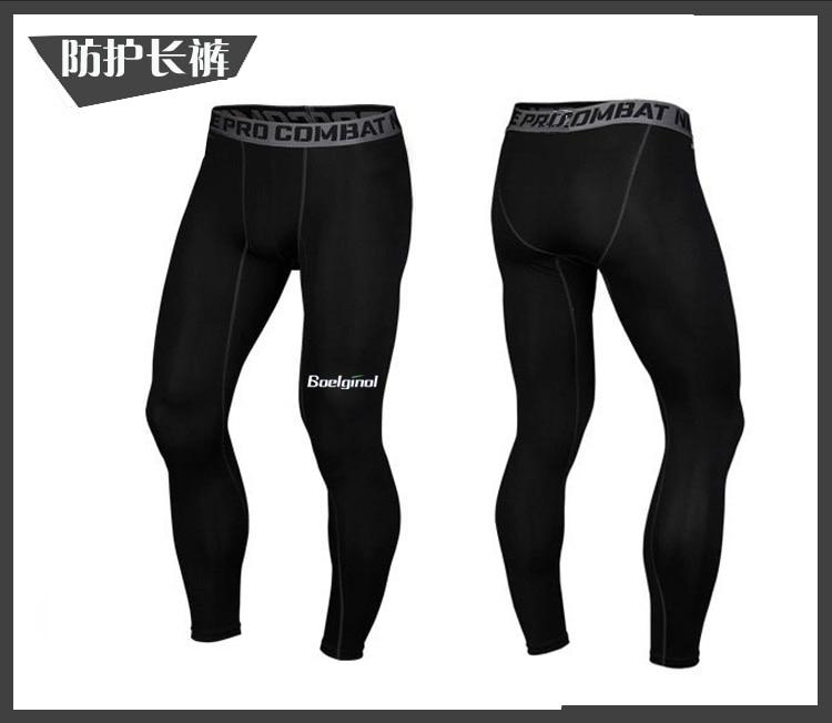 3 Sztuk Ubrania Męskie Kombinezony Sportowe Do Biegania Dla Mężczyzn Krótki kompresja Rajstopy Gym Fitness T Shirt Przycięte Spodnie Szybkie Pranie zestawy 9