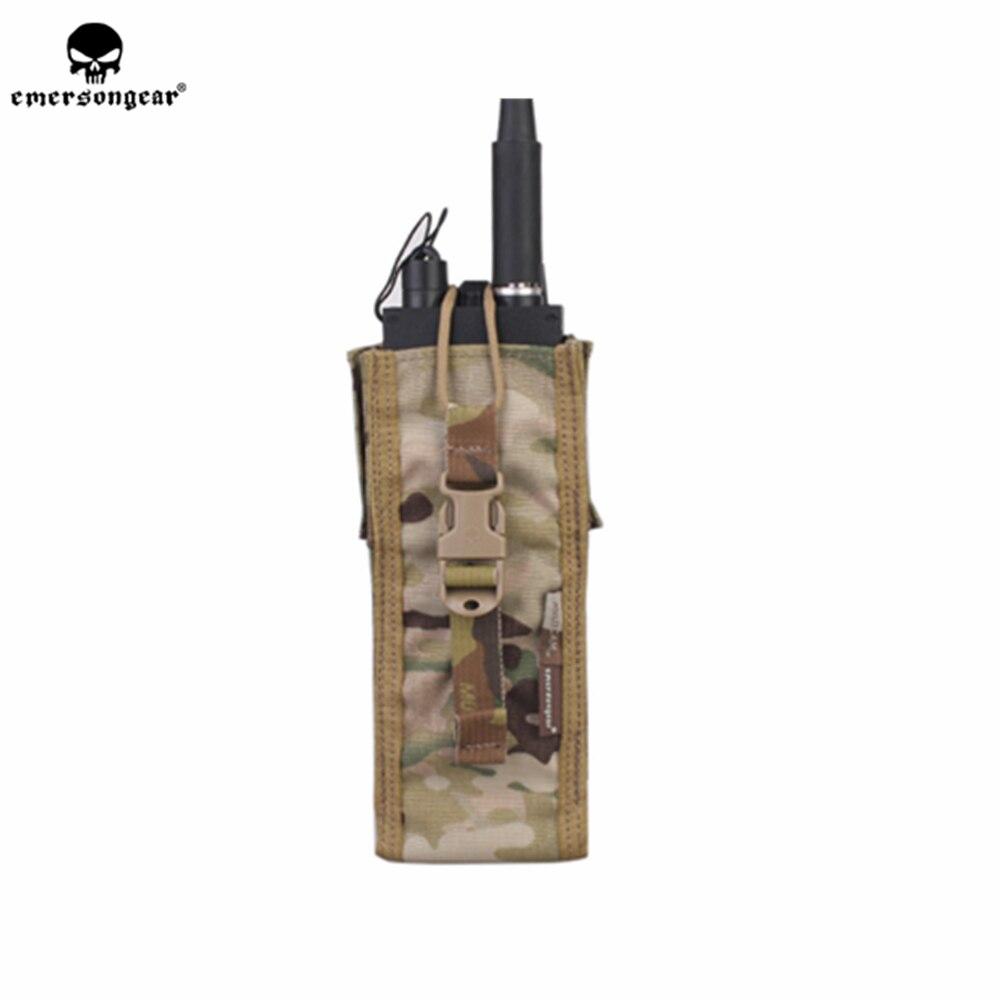 Pochette Radio emersongear Emerson poche de talkie-walkie Molle PRC148/152 étui porte-talkie-walkie pochette tactique