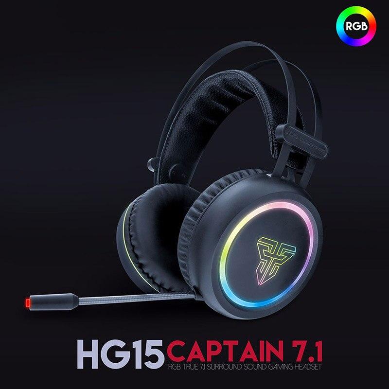سماعات رأس للحد من الضوضاء ، ميكروفون ، سماعة رأس سلكية ، ضوء RGB ، USB ناعم ، قابل للتعديل ، للعب