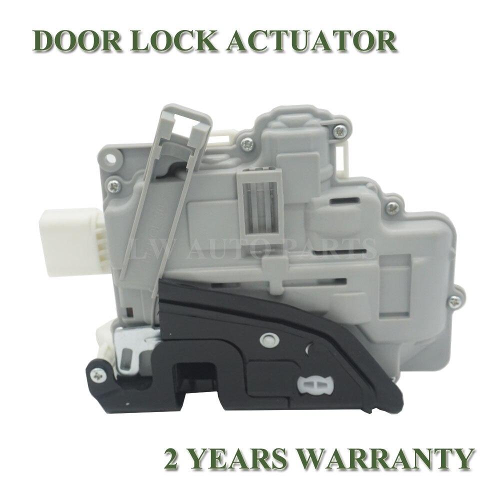 4F1837016 para Seat Exeo 3R2 ST 3R5 Audi A3/S3 A6/S6 C6 A8/S8 R8 RS3 RS6 A4 LHD frontal derecho Actuador de pestillo de bloqueo de puerta