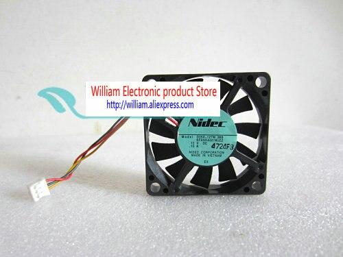 Nidec original D05X-12TM 36B 12V 0.10A 5CM 5010 ventilador de refrigeración