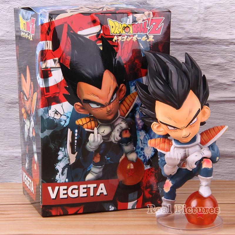 Anime Dragón Ball Z Vegeta GK Staute PVC Vegeta Dragón Ball figura coleccionable modelo juguete regalo