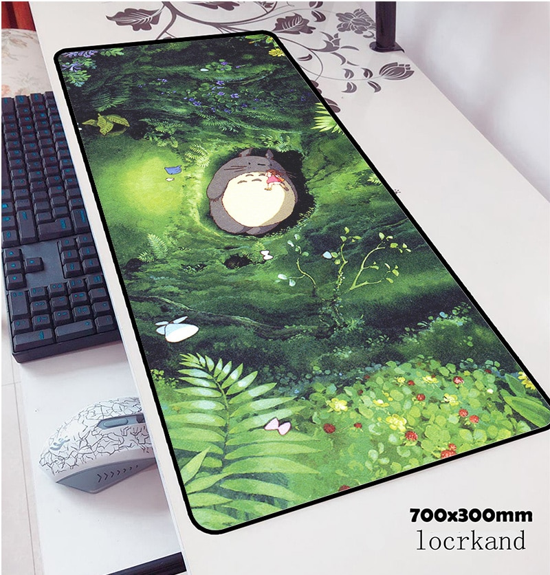 Totoro mouse pads 70x30cm pad to mouse notbook computer mousepad best gaming mousepad gamer to keybo