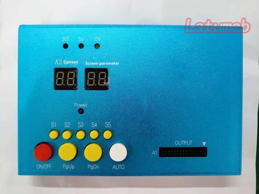 Latumab nowy LCD wyświetlacz LED Controller Driver LVDS uniwersalny Tester wszechstronny płyta sterownicza przenośne pudełko darmowa wysyłka