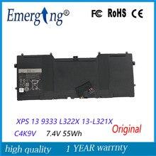 7.4V 55Wh New  Original   Laptop Battery for DELL XPS 13 9333 L322X 13-L321X C4K9V L221x 9Q33