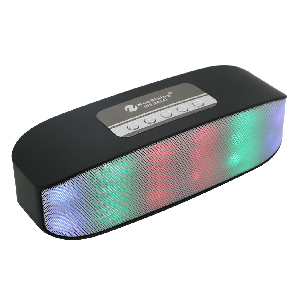 Speaker portátil Bluetooth Speaker Soundbar Speaker Mini caixa de som Estéreo Sem Fio Handsfree Speakerphone Suporte TF AUX USB