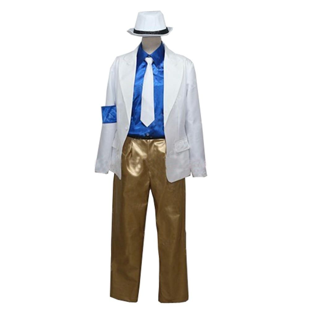 2017 Michael Jackson suave Criminal de Michael Jackson Cosplay traje