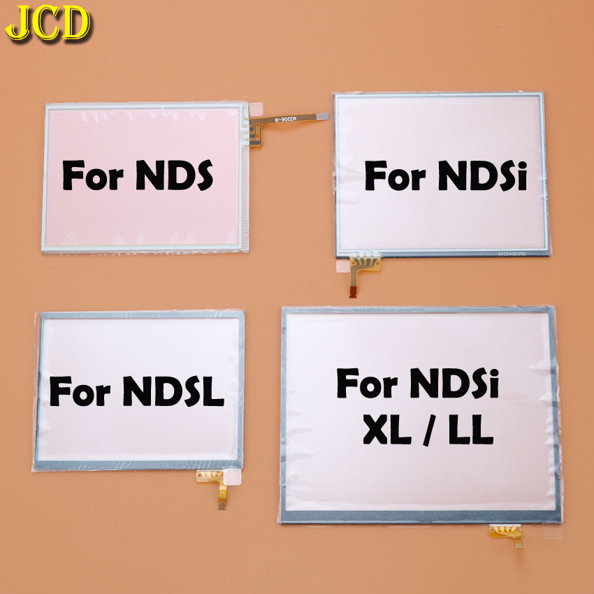 JCD Touch Screen Panel Display Digitizer For Nintend DS Lite NDSL NDS NDSi XL LL Console Game Lens Screen недорого