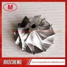 CT10 6+6 blades 36.02/50.96mm 17291-0L020  turbo billet/milling/aluminum 2618 compressor wheel for  17201-0L020/30080