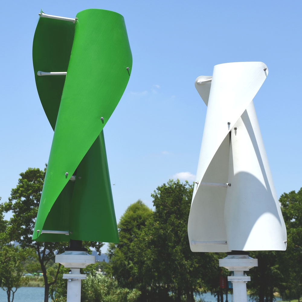 Haushalt wind energie 1,3 m gestartet hohe effiziente maglev wind generator 400w 12/24 v/48 v vertikale achse mit MPPT controller