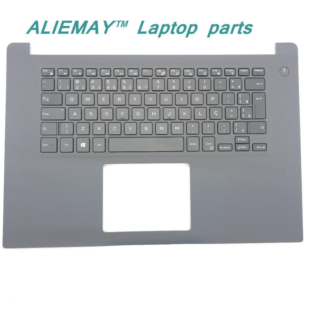 ¡Nuevo! piezas originales de ordenador portátil para DELL INSPIRON 15-7000 7560 7572 retroiluminado BR Po/BR MONTAJE DE reposamanos de teclado