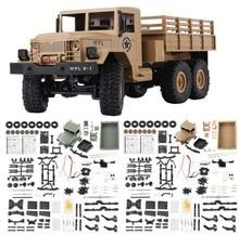 WPL B-16 B16 todoterreno Camión Militar de control remoto WPL KIT de actualización DIY 1:16 RC coche Buggy RC WPL Monster Truck 6WD 6 ruedas montar oruga