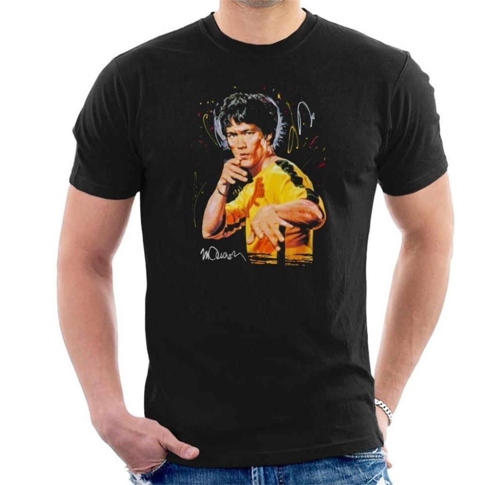 ¡Novedad de 2019! Camiseta a la moda para hombre, camiseta de estilo veraniego con retrato Original de Bruce Lee, Camiseta deportiva del juego de la muerte para hombre