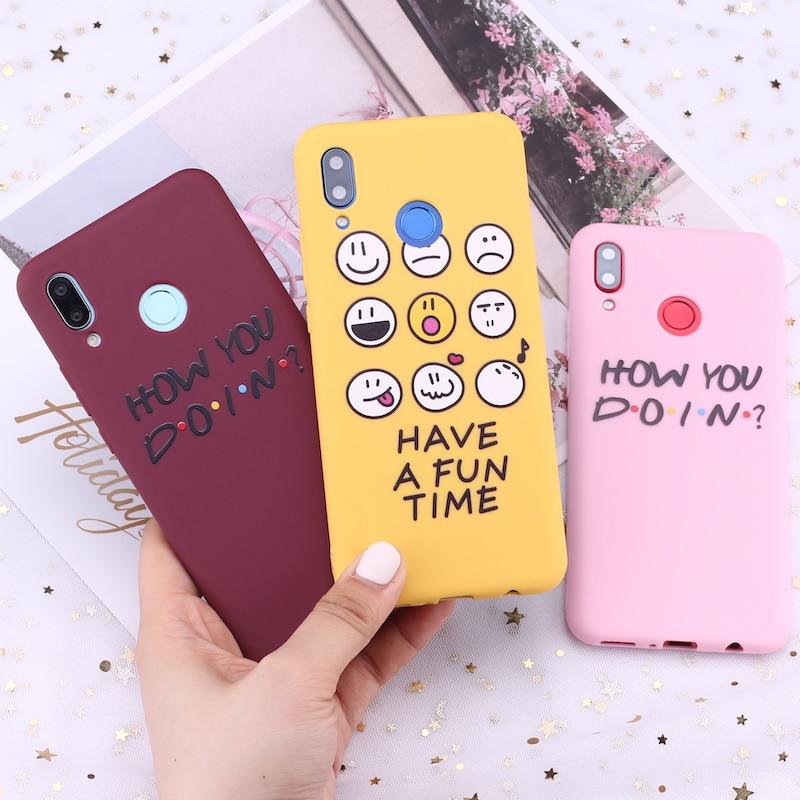 Силиконовый чехол для телефона Samsung S8 S9 S10 S10e S20 Plus Note 8 9 10 A7 A8 Friends Party Fun Vibes Candy Fundas
