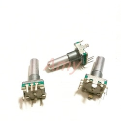 20 pçs/lote Japonês EC11 codificador 30 número 15 pulso 22 MM eixo redondo posioning sem interruptor