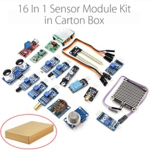 16 en 1 Module de capteur Kit Laser ultrasons évitement dobstacles pour framboise Pi 2 Pi2 Pi3 Carton boîte paquet