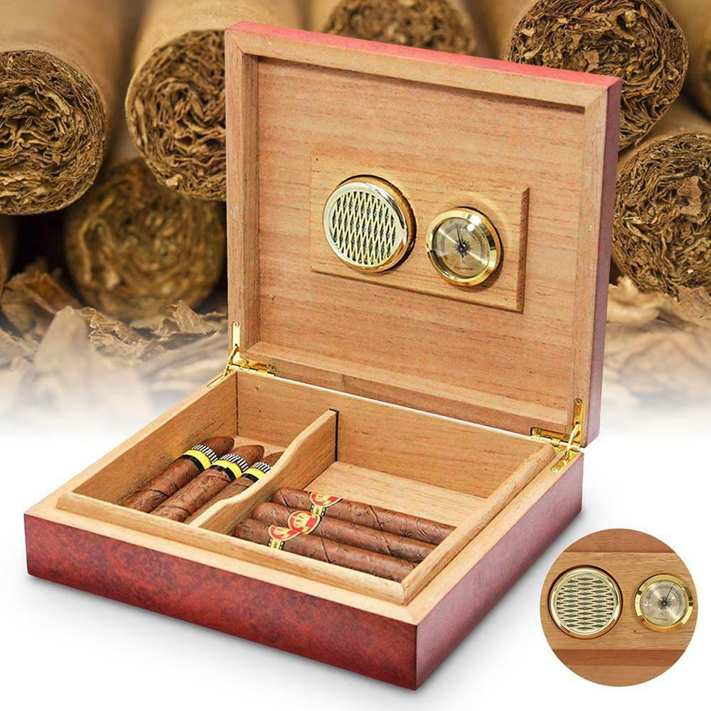 50MM Humidor Dedicated Homothermal Electronic Accurate Cigar Hygrometer Digital Wardrobe Temperature