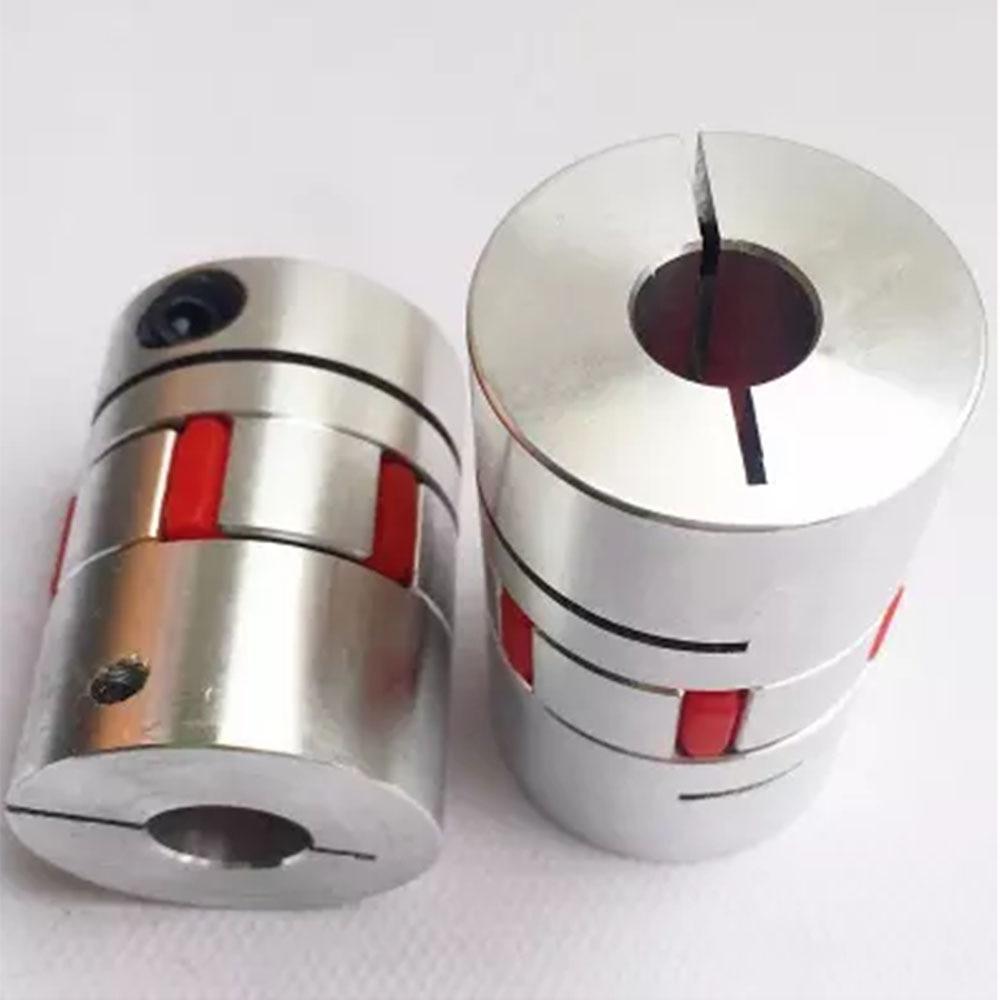 1 Uds CNC eje de mordaza de motor acoplamiento Flexible araña plum acoplamiento D25 L30 4mm 5mm 6mm 6,35mm 7mm 8mm 9mm 9.525mm 10mm 12 12,7mm