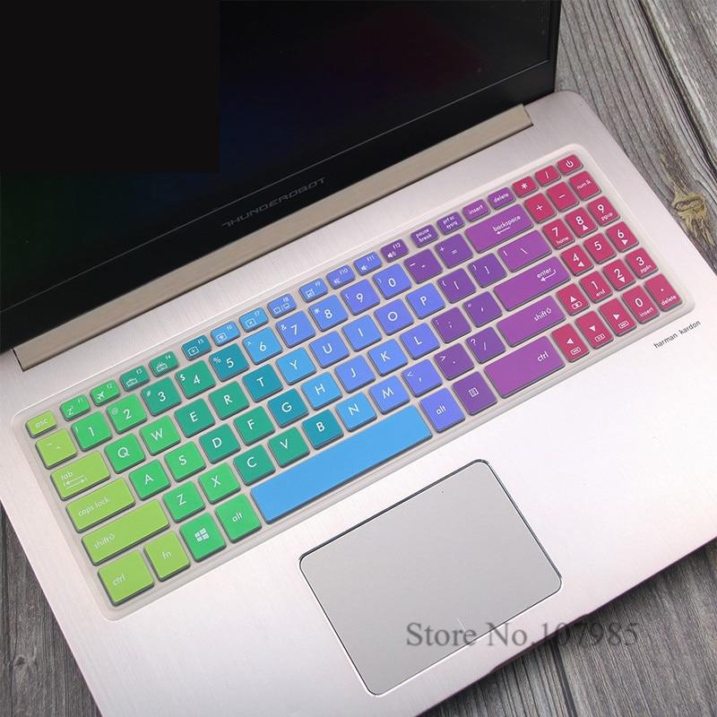15.6 Laptop Keyboard Cover Pele Para Asus VivoBook Pro 15 N580G N580GD N580VD M580VD N580 M580 NX580VD YX570ZD YX570ud YX570