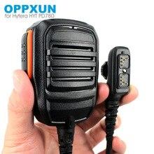 PTT Handheld Mic Microphone pour Hytera HYT PD702 PD700 PD700G PD780 PD780G PD780GM Talkie Walkie à Deux Voies Radio SM18N2