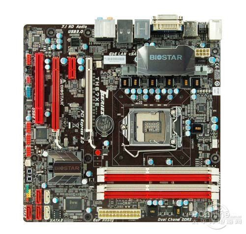 H67 1155 placa base utilizada original BIOSTAR TH67 XE DDR3