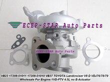 1p Twin Turbo RHV4 VB23 17208-51010 17208 51010 17208-51011 pour TOYOTA LandCruiser 17201 1VDFTV VDJ76 VDJ78 VDJ79, 4,5l