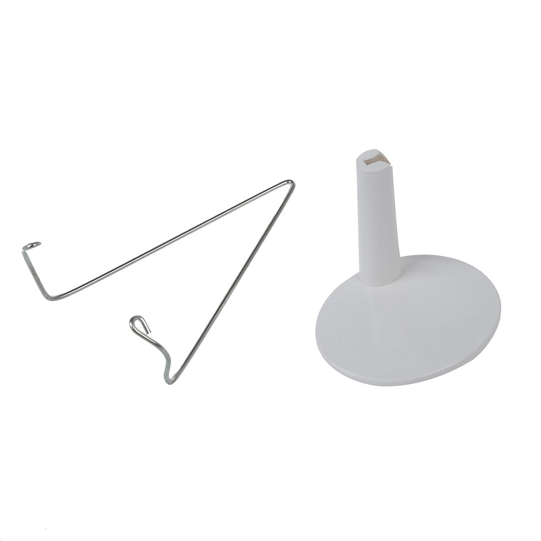 Abwe branco ajustável dollstand 3.3 - 4.3 polegadas