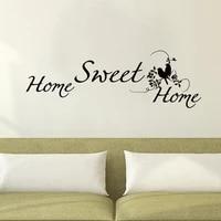 ZOOYOO     autocollant mural Double oiseaux en vinyle amovible  decoration pour chambre a coucher et salon