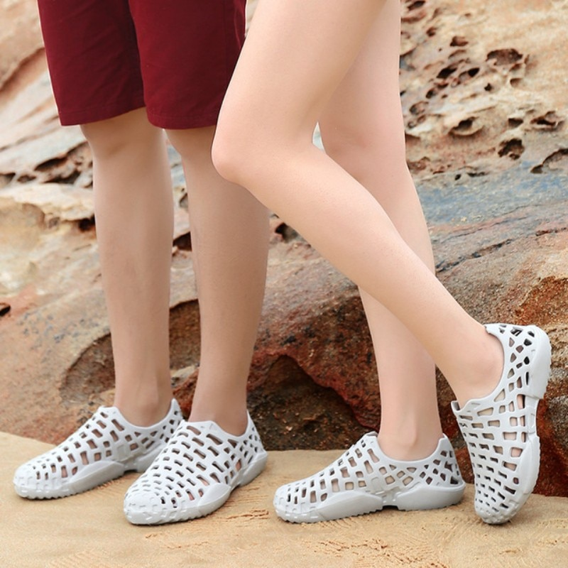Summer New Women Sandals Air Mesh Women Casual Shoes Lightweight Breathable Water Slip-on Shoes Women Sneakers Sandalias Mujer big bowtie women sandals round toe breathable air mesh female shoes shallow slip on low heels black summer sandalias mujer