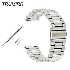 20mm 22mm Quick Release Watchband for IWC Men Women Watch Band Stainless Steel Strap Wrist Belt Link Bracelet Black Gold Silver