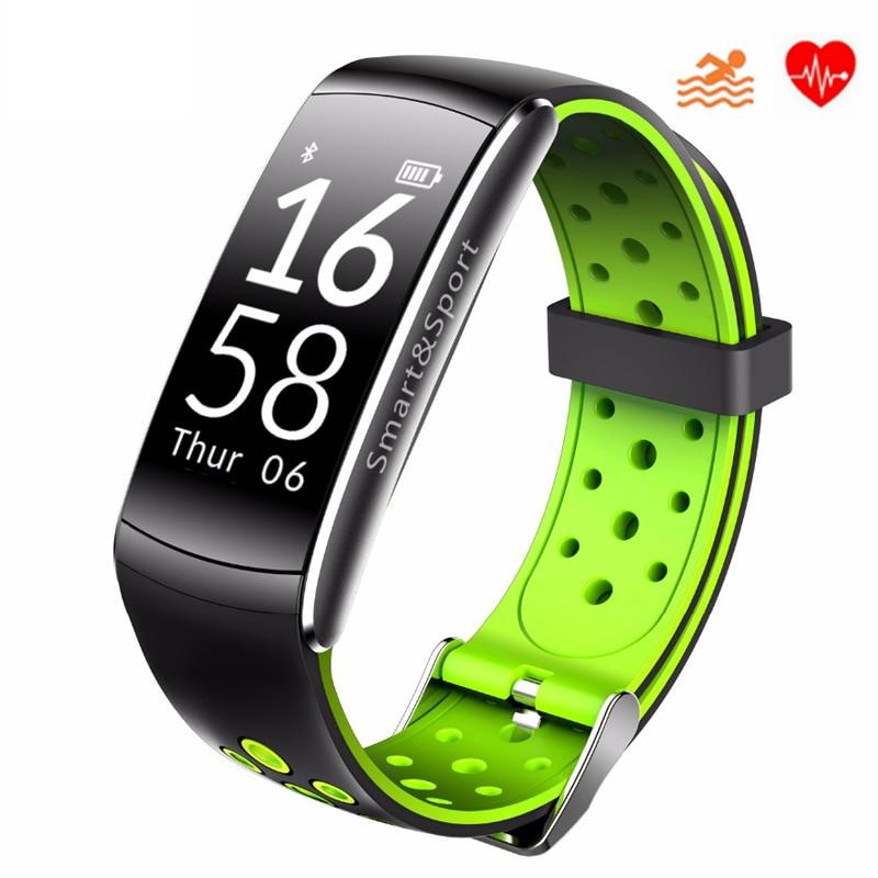 swimming blood pressure heart rate monitor smart watch men women reloj hombre 2018 montre sport cardio watches clock fit watch