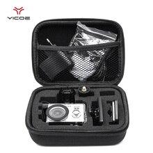 Gopro accessoires petite taille EVA étui de collecte sac boîte de rangement pour Gopro Hero7/6/5/4/3 + SJCAM SJ4000 XIOMI YI 4K caméra daction